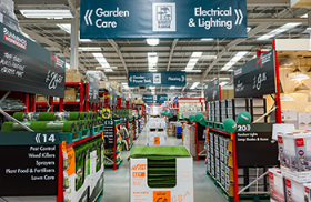 The Hemel Hempstead store occupies over 64,000sq ft and stocks more than 27,000 product lines