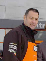 "Damian McGloughlin has resigned from B&Q ""to take up a role with a competitor"", says the company"