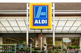 Three quarters of consumers said they made unplanned purchases in discount stores, like Aldi