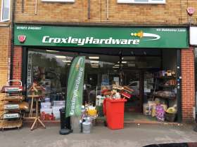 Croxley Hardware in Croxley Green was inspired by the 1970s comedy sketch