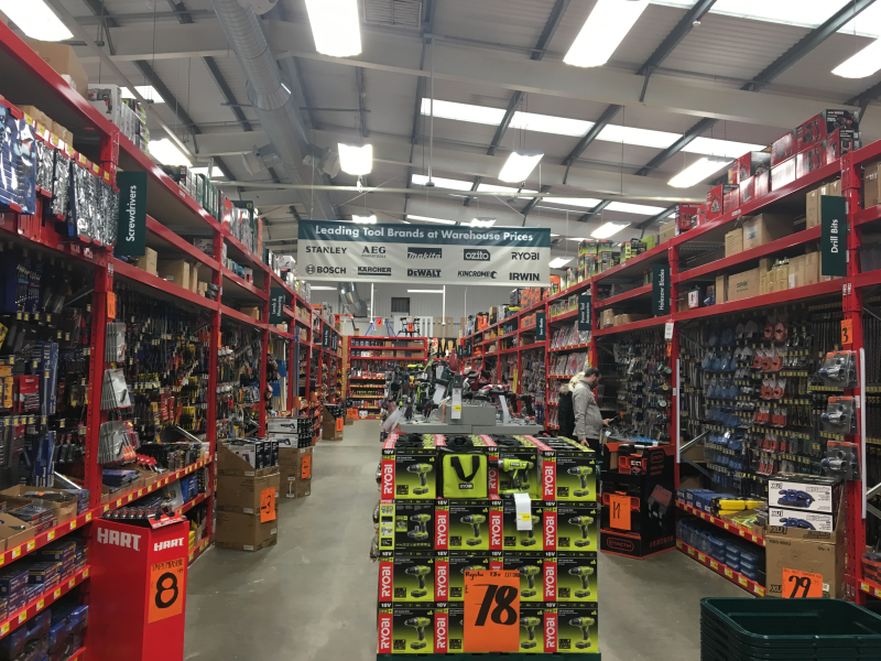 The newest Warehouse boasts Bunnings