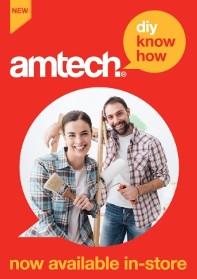 The Amtech DIY trial will be live in 40 Dunelm branches by Easter