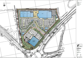 Site Plan from Castle City Ltd to Ashford Borough Council