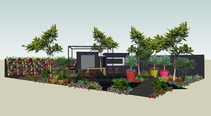 B&Q has revealed the design for its Hampton Court Flower Show garden