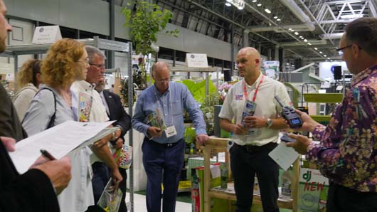 Winning products were judged by an expert panel at the show (photo courtesy of GTN)
