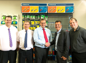 Stax Trade Centres has announced details of yet another new strategic partnership which will provide its customers with access to a greatly increased range of fixings, fastenings, anchors, sealants and adhesives from Rawlplug.