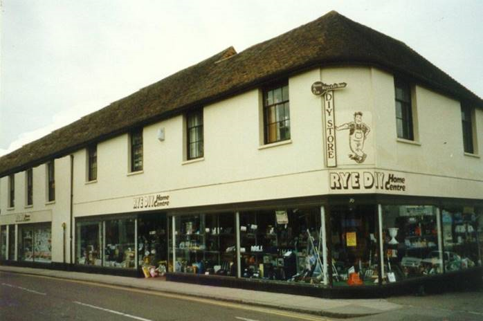 Rye DIY had operated in the town for the past 25 years before it was taken over by Trade Paints. Its new owners have retailed the original name because of its history locally