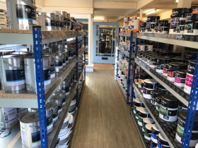 Trade Paints has spent weeks re-fitting the shop