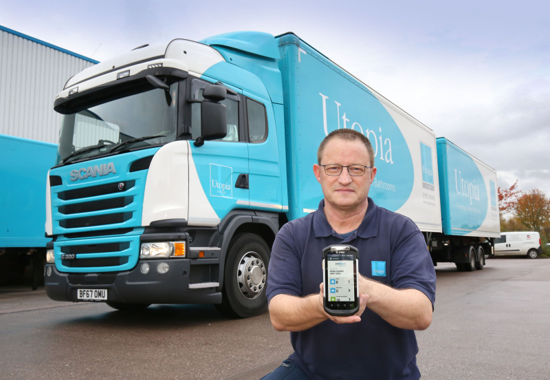 Delivery drivers are now equipped with touch computers that run the JobWatch app, which includes delivery and collection reporting, with line item fast scanning and electronic proof of delivery, timesheets, expenses and vehicle inspections.