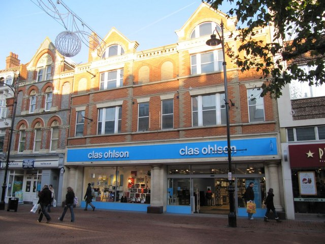 The Reading store is the only Clas Ohlson outlet to remain open in the UK