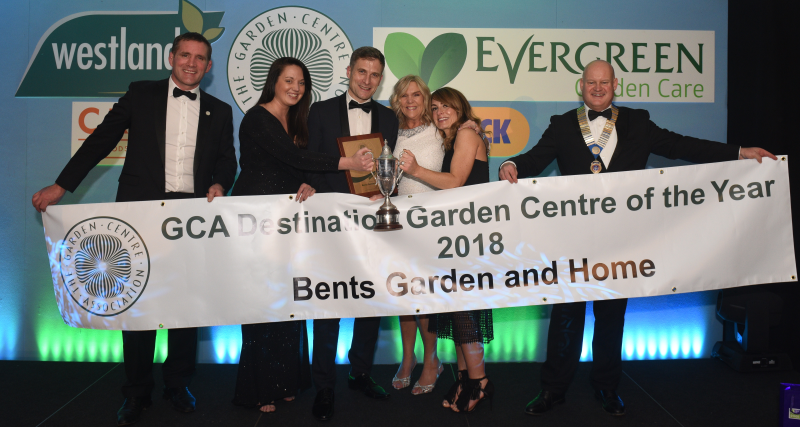 Bents won two awards and was named Destination Garden Centre of the Year