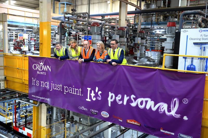 Liz Truss MP and Jake Berry MP visit Crown