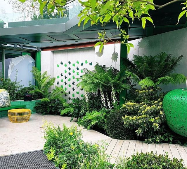 Greenfingers earned a silver-gilt medal for its first-ever Chelsea garden
