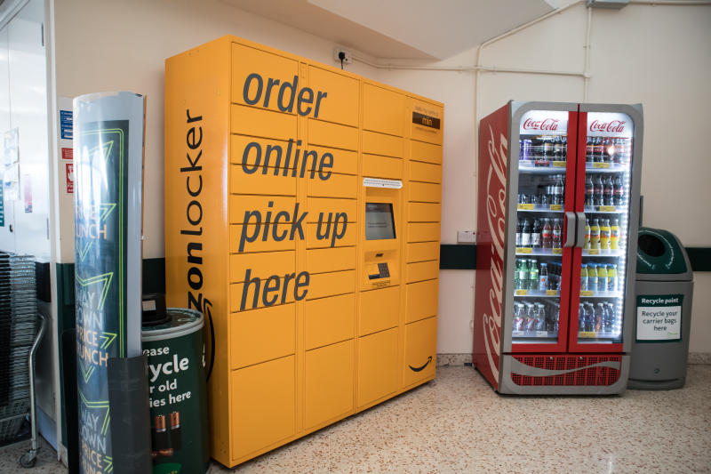 Morrison first teamed up with Amazon in 2016 when it installed pick-up lockers across its network of stores