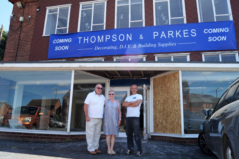Thompson & Parkes new DIY outlet will open in Stourport later this year