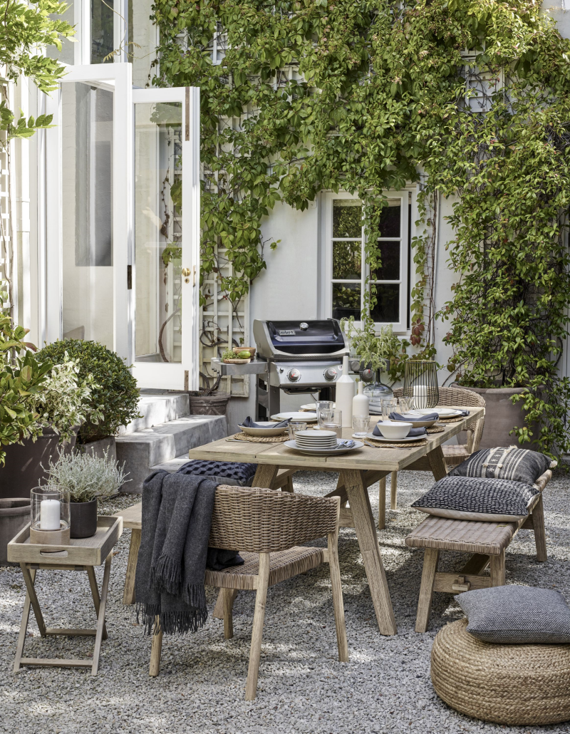 John Lewis & Partners reported a 40% spike in sales of barbecues last week, along with a 20% jump in outdoor furniture