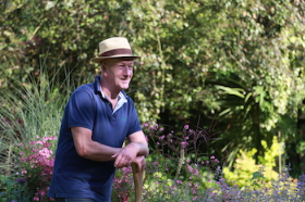 Andy McIndoe has been responsible for 25 gold medal wins at RHS Chelsea