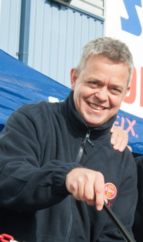 Graham Smith has been with Screwfix for eight years, including several as retail marketing director