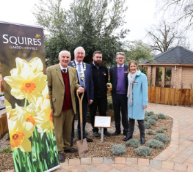 Colin Squire (chairman), Alan Alderson (Mayor of Runnymede), Matt Tanner (centre manager), Martin Breddy (MD) & Sarah Squire (deputy chairman) celebrated the opening of the £1.5m new centre