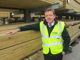 Neil Woods is the new timber director at Covers