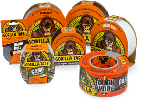 Gorilla Tape will be the subject of Gorilla Glue