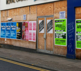 New shop openings and a nine-month high in demolitions resulted in fewer vacant units in March