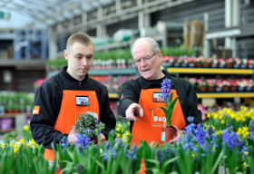 B&Q claims to be the first retailer to grow flowering plants for sale without the use of neonicotinoid pesticides