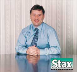 David Hibbert, Stax joint managing director