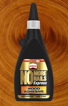 Henkel Launches No More Nails Express Wood Adhesive