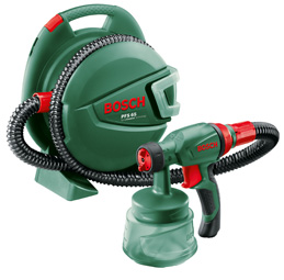 Fine spray gun - new from Bosch power tools.
