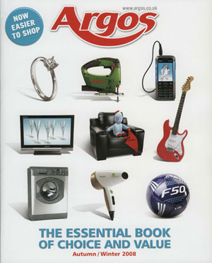 New Argos catalogue lists premium housewares brands