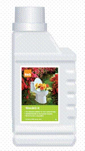 B&Q to utilise 'power of wee' in compost accelerator