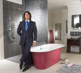 News - Lawrence Llewelyn-Bowen new face of kitchen and bathroom brands