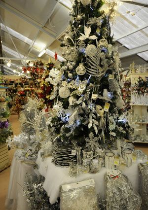 Christmas at Monkton Elm garden centre