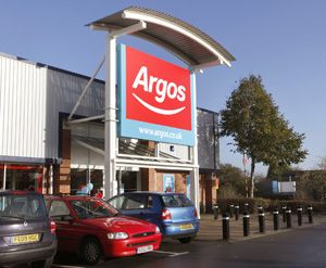 Argos Q1 sales drop 9.6%