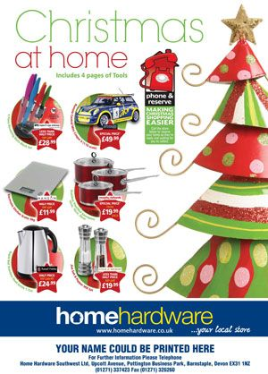 Home hardware inundated with orders for christmas brochure for Home hardware christmas decorations