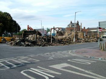 Aftermath: House of Reeves was razed to the ground after the blaze