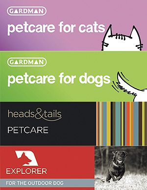 Gardman's new petcare brands
