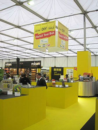 The venue for Totally DIY 2012 received mixed reviews from exhibitors and visitors