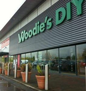 The weather hit gardening product sales at Woodie's DIY