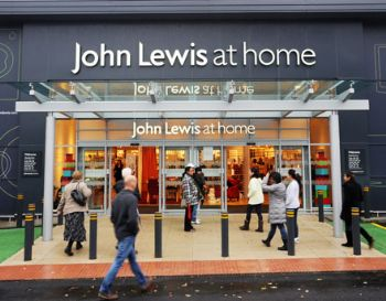 John Lewis' 'at home' branches continue to drive its weekly sales figures