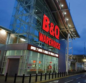 B&Q's total sales were up almost 5%, but gross margin is expected to be down