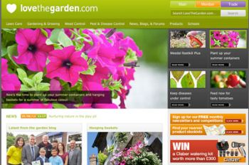 The 'misleading' ad was shown on Scotts' 'love the garden' website