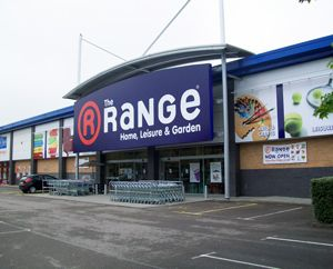 The Range outlet back open hours after blaze