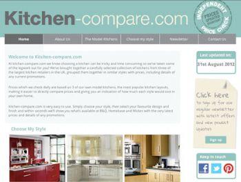 New Kitchen Comparison Site Compares B Q Homebase And Wickes