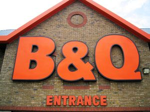 Sales at B&Q fell 3%, with average footfall dropping by a fifth in the first half