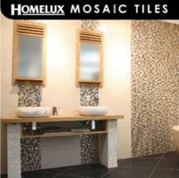 Homebase Mosaic Bathroom Tiles Bathroom Design Ideas
