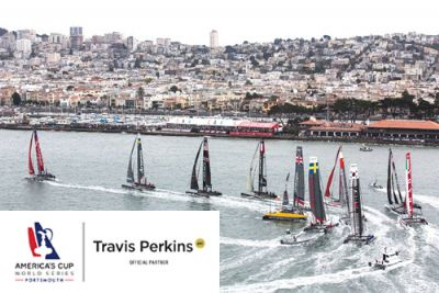Travis Perkins secures sponsorship of America's Cup World Series Portsmouth
