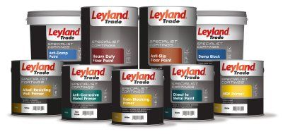 Leyland Trade coatings tackle problems