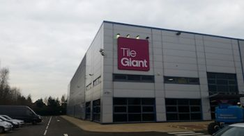 Tile Giant launches first standalone warehouse